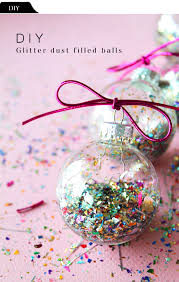 diy file glitter dust filled balls the vault files
