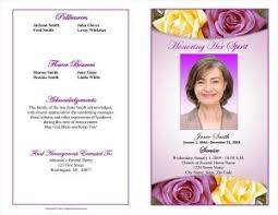 memorial program wording funeral program exles funeral programs sle