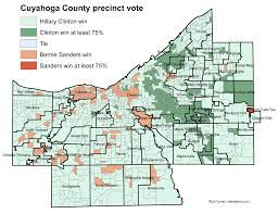 Lakewood Ohio Map by Did Your Neighborhood Vote For Hillary Clinton Or Bernie Sanders