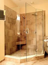 Angled Shower Doors Bed Bath Glass Shower Enclosure With Tile For Neo Angle Cozy