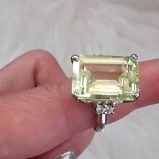 art deco emerald ring ebay