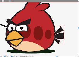 create angry birds parody illustrator