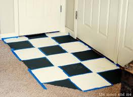 interlocking floor tiles as bathroom floor tile for fresh painting