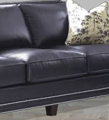 Navy Blue Leather Sofas by Chesterfield 2 Seater Antique Blue Leather Sofa Offer Blue