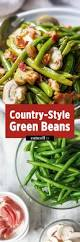 green bean dish for thanksgiving 15 minute green beans with bacon mushroom sauce u2014 eatwell101
