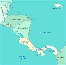 san jose costa rica on map map of costa rica