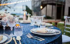 Gold Sequin Linen Rental Los Angeles Party Rentals San Diego Raphaels Com Parties Weddings Events