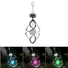 wind spinners with led lights colorful solar power wind chime light wind spinner led light l