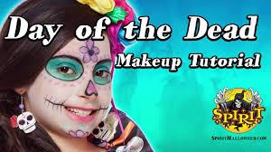 spirit halloween harley quinn day of the dead makeup tutorial spirit halloween youtube