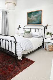 the 25 best black metal bed frame ideas on pinterest black