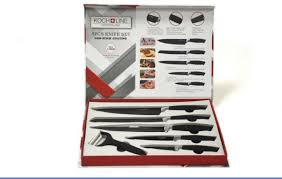 swiss koch kitchen collection souq knife set 5pcs black made in switzerland uae