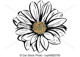 vector image of a beautiful blooming flower garden clipart vector