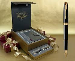 sonnet fountain pen matte black gold trim fountain pen in