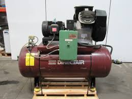 atlas copco directair le9 10hp 2 stage air compressor 120 gallon