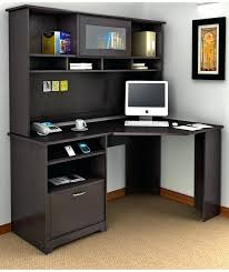 Office Desk Shelves Contemporary Home Office Desk White With Shelves Computer Glass