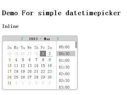 format date javascript jquery jquery date and time picker plugin simple datetimepicker free