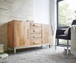 Esszimmerst Le Segm Ler Kommode Anrichte Sideboard Romsdal Retro Vintage Design Massivholz