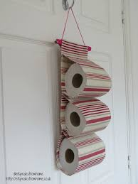 Extra Toilet Paper Holder by Diy Fabric Toilet Paper Holder Et Speaks From Home