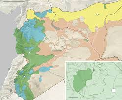 Syria On World Map by Aleppo Close To Falling Under Complete Control Of Syrian
