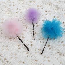 tulle hair bows offray tiny tulle pom pom hair bow