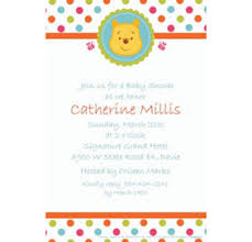 winnie the pooh baby shower invitations custom winnie the pooh baby shower invitations party city