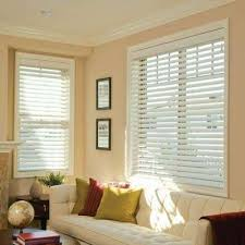 Inexpensive Wood Blinds Bedroom Best Faux Wood Blinds The Home Depot For 2 Window Decor