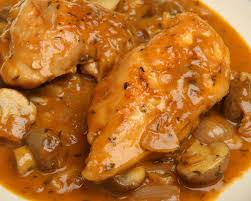 cuisine grand mere poulet grand mère marguerite a fricassee made with