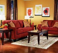 Extraordinary  Red Yellow Living Room Decor Design Decoration - Red living room decor