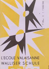 L Ecole valaisanne novembre 1958 by Résonances mensuel de l Ecole