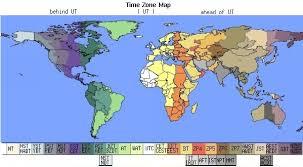 utc zone map measurement times globe gov