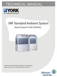 vrf york hvac air conditioning