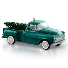 Ornaments For Trucks 1957 Chevrolet 3100 Truck Ornament Presents