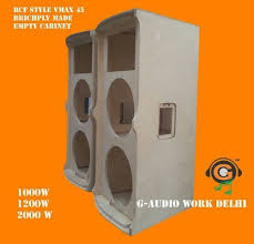empty plastic speaker cabinets wooden dj cabinet at rs 18000 pair speaker cabinet id 13763574512