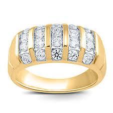 mens gold diamond rings men s wedding bands men s wedding rings sears