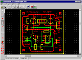 layout software free express pcb and express sch electronic circuits