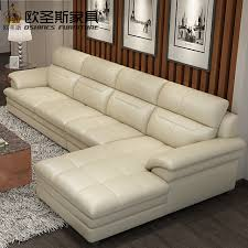 real leather sectional sofa new model l shaped modern italy genuine real leather sectional
