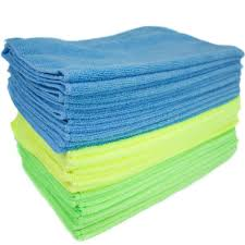 light blue kitchen towels microfiber cloths cleaning cloths the home depot