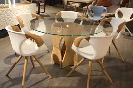 new dining room chairs offer style and comfort while the base of this dining table is beautiful the dining chairs in this set by