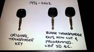 toyota 4runner key fob replacement program transponder key for 2000 toyota 4runner