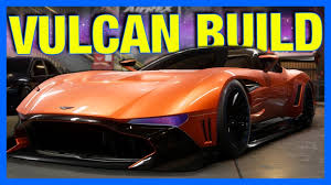 custom aston martin vulcan need for speed payback aston martin vulcan customization nfs