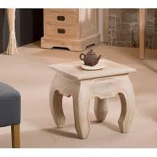 meuble bout de canapé bout de canapé opium 40 cm teck blanchi meubles macabane