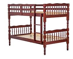 Solid Wood Bunk Beds With Trundle by Amazon Com 100 Solid Wood Arlington Twin Twin Bunk Bed Mahogany