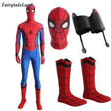 Custom Halloween Costume Aliexpress Buy Spiderman Cosplay Costume Halloween