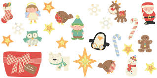 christmas stickers christmas photo stickers merry christmas and happy new year 2018