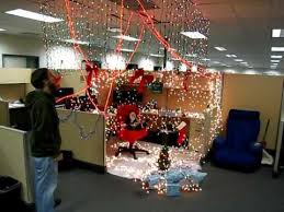 Decorate Office Cabin Mimosa Office Cubicle Prank Merry Christmas Youtube