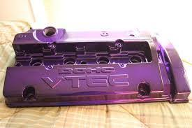 vht anodised purple colour coat paint polishnparts
