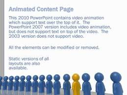 element layout template is not supported hr slide designs a powerpoint template from presentermedia com