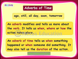 adverbs of time youtube