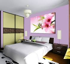 1 piece sell modern wall painting blooming plum home decorative