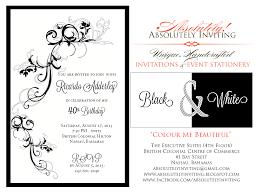 Birthday Invitation Card Sample Wording Invitations 40th Birthday Invitation Wording